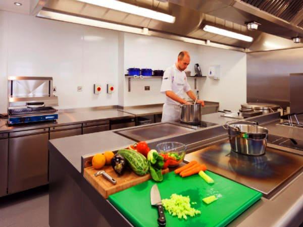 Pavimentos antideslizantes suelos para cocinas industriales - Pavimentos para cocinas ...